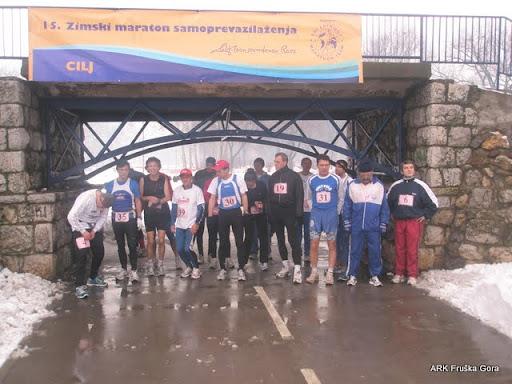 Maratonci na startu maratona