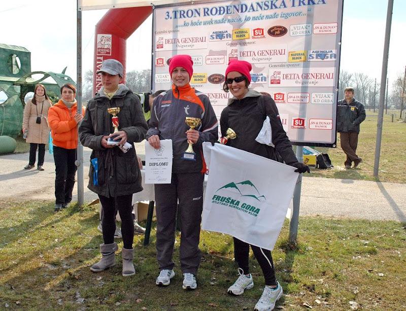 Tanja Radumilo se okitila bronzanim odličjem na trci 10km