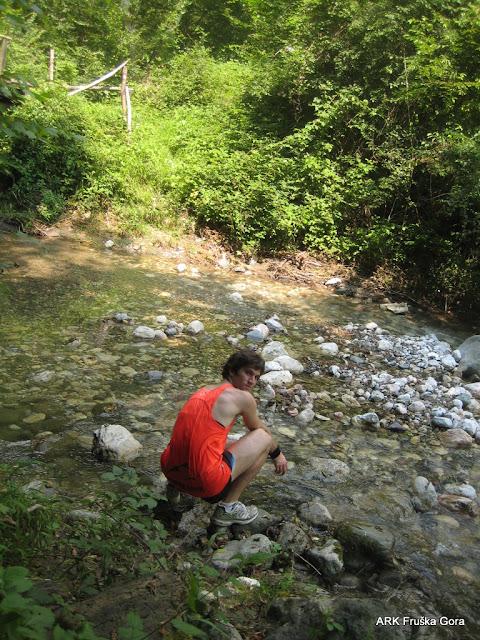 Osveženje na potoku
