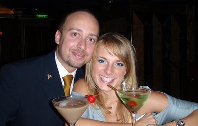 Este contrato ficará na história como o meu descobrimento da maravilha dos martinis!