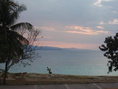 A vista do meu hotel em Montego Bay...