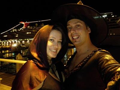Noite de Halloween no Fantasy Fest em Key West
