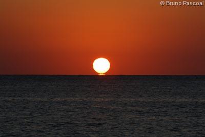 Mais um pôr-do-sol em Cozumel