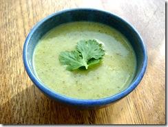 Courgette Soup 2