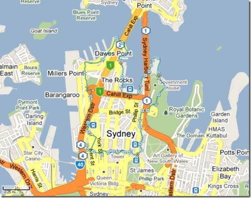 Running Sydney, AU 25-12-2009