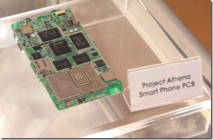 Project Athena Smart Phone PCB