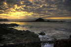 Wschod nad Island Bay