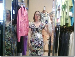Great summer dress I tried on in 240 Sparks. Found similar pattern in Burda Magazine 04-2009, #110