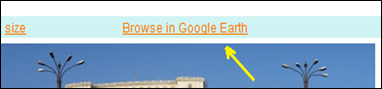 مشاهده عکسهای گیگاپن برروی گوگل ارث