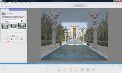 برش یک عکس با استفاده از برنامه پیکاسا