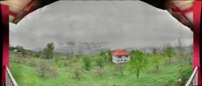 عکس پانوراما - روشنکوه - هوای ابری