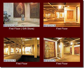 تور مجازی موزه فرش ایران