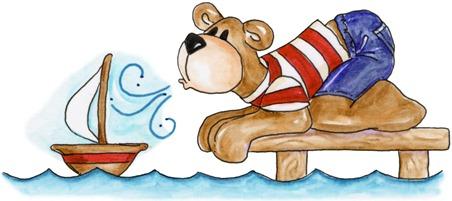 Sailboat Bear