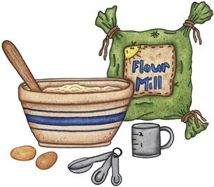 imagens decoupage clipart Baking