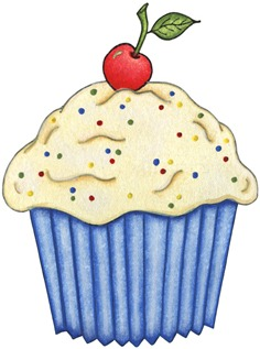 imagens decoupage clipart Cupcake