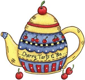 imagens decoupage clipart Tea Pot