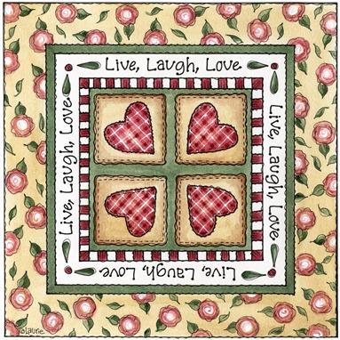 imagens decoupage clipart Live Laugh Love
