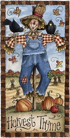 imagens decoupage clipart Scarecrow