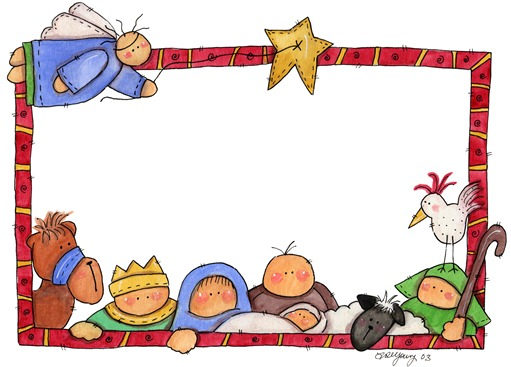 Imagens decoupage FR Nativity