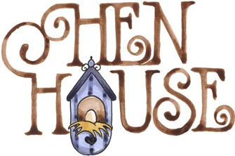 imagem decoupage clipart Hen House-762065