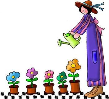 HW Watering Flowers-780937