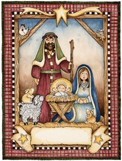 decoupage BGD Nativity