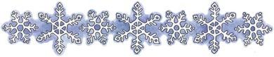 decoupage BDR Snowflakes