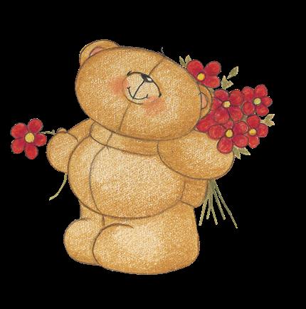 ursinho flor