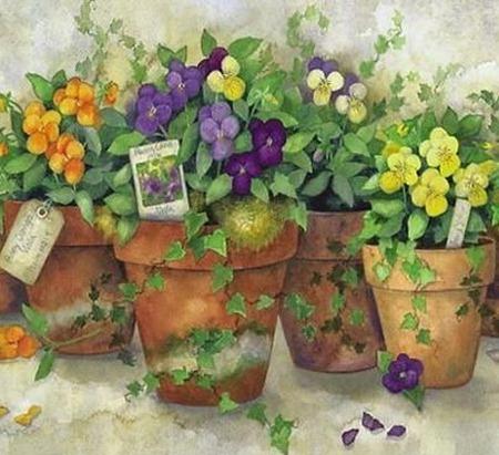 clipart imagem decoupage flores