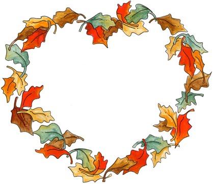 FR Leaf Heart
