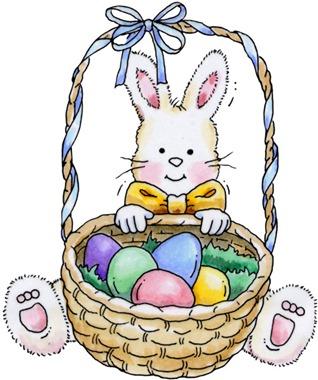 clipart imagem decoupage bunny