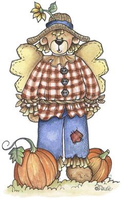 imagem decoupage clipar Scarecrow01