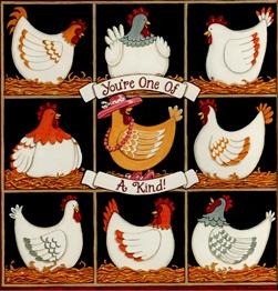 clipart imagem decoupage Chicken 2