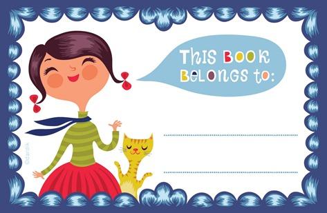 etiqueta book