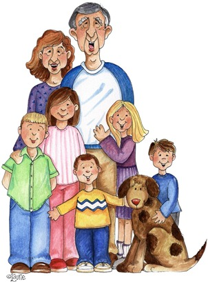 clipart imagens decoupage With_the_Grandkids