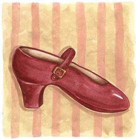imagem decoupage clipart Shoe Red (1)