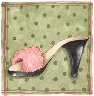 imagem decoupage clipart Shoe Red (21)