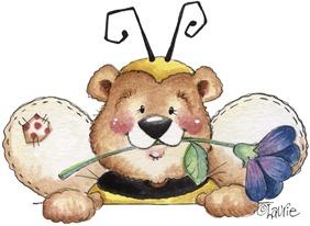 Bumble Bear Topper