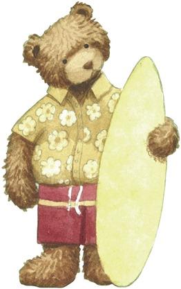 Surfer Bear