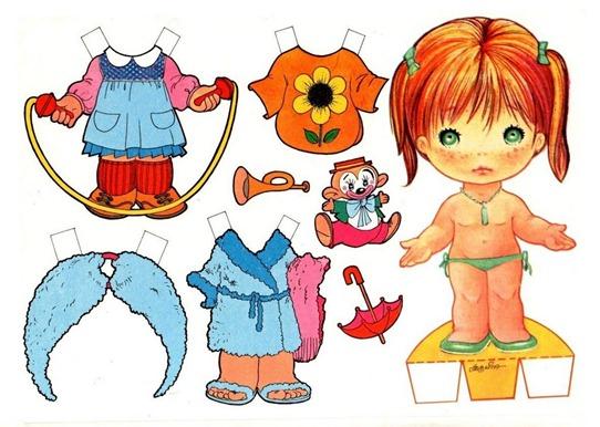 imagens decoupage clipart boneca de papel (5)