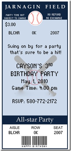 Microsoft PowerPoint - Baseball PARTY INVITESr-CARTER