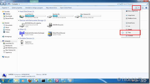 2_Checking Hard Drive Free Space in Windows 7
