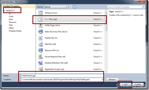"5_Create ""Hello World"" C   Program in Windows Using Microsoft Visual Studio"