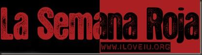 La Semana Roja banner