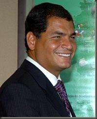 Brasília, 08 de dezembro de 2006  Presidente Luiz Inácio lula da Silva recebe o presidente eleito do Equador, Rafael Correa, no Palácio do Planalto