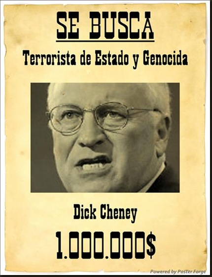 Se busca Dick Cheney