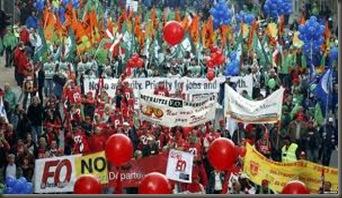 Manifestaciones Europa