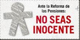 Pensiones No seas inocente