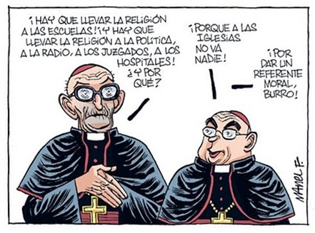 Religión, chiste Manel