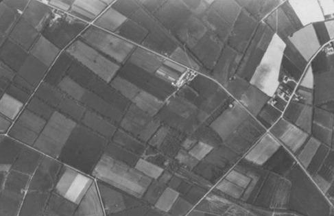 Le maillage géométrique du bocage sur les anciennes landes de Muzon